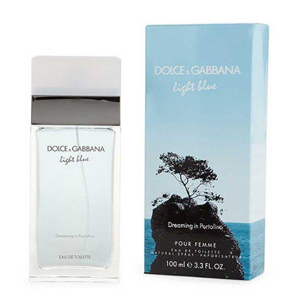 dolce gabbana light blue dreaming in portofino pour femme 100ml woda toaletowa. Black Bedroom Furniture Sets. Home Design Ideas