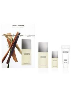 Issey Miyake l Eau d Issey Pour Homme 125ml woda toaletowa + 15ml woda toaletowa + 75ml żel pod prysznic