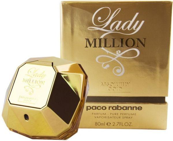 Paco Rabanne Lady Million Absolutely Gold 80ml woda perfumowana