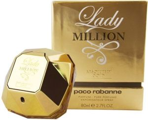 Paco Rabanne Lady Million Absolutely Gold 80ml woda perfumowana