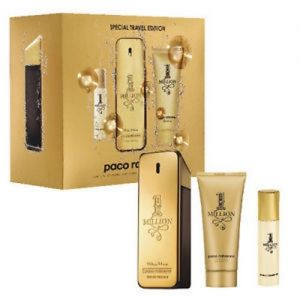 Paco Rabanne 1 Million 100ml woda toaletowa + 10 ml woda toaletowa + 100ml żel pod prysznic
