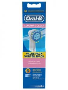 Braun Oral-B Sensitive Clean 6szt.