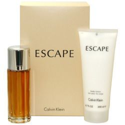 Calvin Klain Escape 100ml woda perfumowana + 200ml balsam do ciała