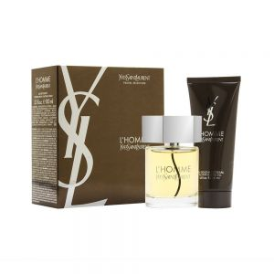 Yves Saint Laurent L'homme 100ml woda toaletowa +100ml żel pod prysznic
