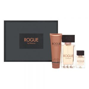Rihanna Rogue 125ml woda perfumowana + 6 ml woda perfumowana + 85ml balsam