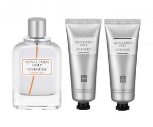 Givenchy Only Gentlemen Casual Chic 100ml woda toaletowa + 75ml balsam + 75ml żel pod prysznic