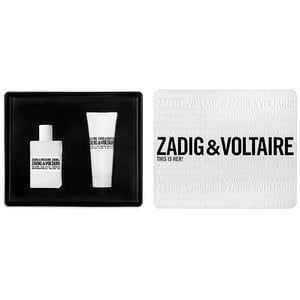 Zadig & Voltaire This is Her 50ml woda perfumowana + 75ml balsam do ciała