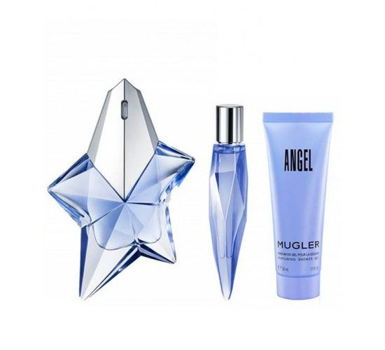 Mugler Angel 50ml woda perfumowana + 10ml edp + 50ml żel do kąpieli